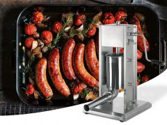7L Stainless Steel Vertical Sausage Stuffer