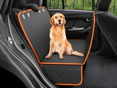 Dog Car Seat Cover Protector - BLACK