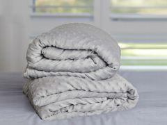 122cm x 183cm Weighted Blanket Cover - Grey